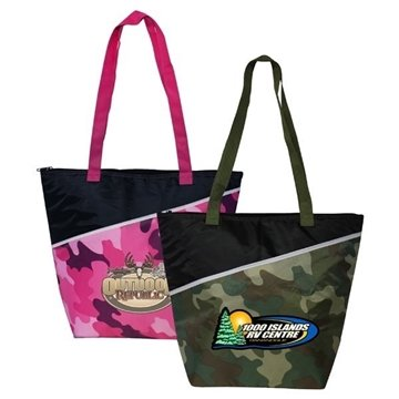 Camo Insulated Cooler Bag, Full Color Digital
