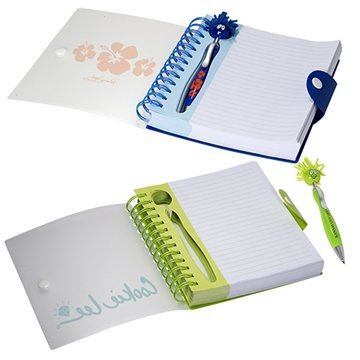 Emoti™ MopTopper™ Pen & Notebook Set