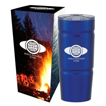 24 oz Stainless Steel Ursa Tumbler with Custom Box