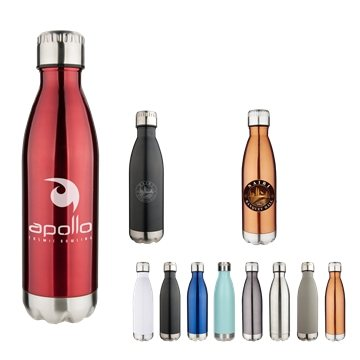 17 oz Apollo Double Wall Stainless Vacuum Bottle