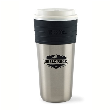 Thermos® Coffee Cup Insulator - 20 oz - Stainless Steel