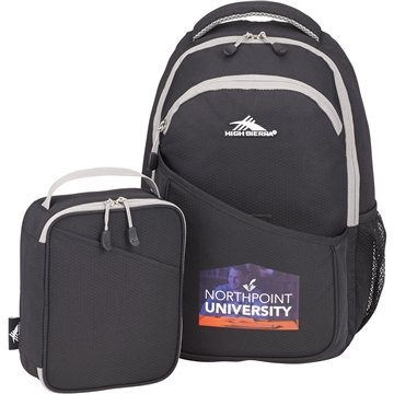 High Sierra 15'' Computer Backpack w/ Lunch Cooler