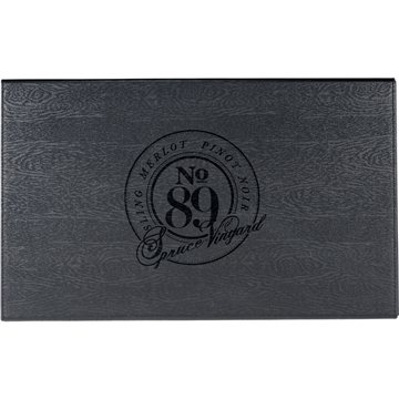 Laguiole® Black Kitchen Knife and Cutting Board Set