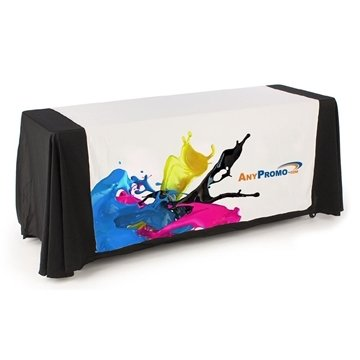 8 ft. 4-Sided Table Runner - Dye Sublimated (96'' x 87'')