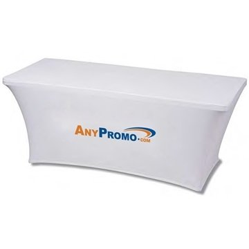 5 ft. 3-Sided Stretch Table Cover - Dye Sublimated (5' x 28.5'' x 28.5'')