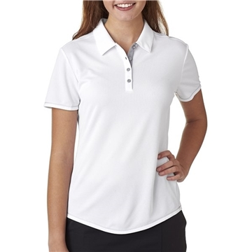adidas Golf Ladies' climacool Mesh Color Hit Polo