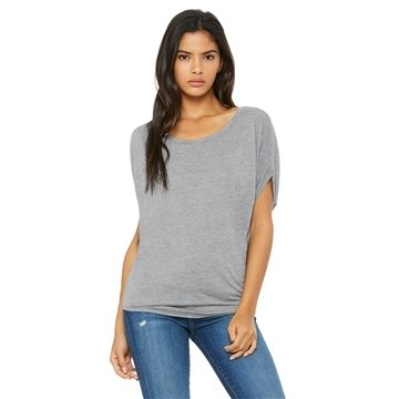 Bella + Canvas Ladies' Flowy Circle Top