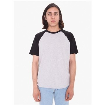 American Apparel Unisex Poly-Cotton Raglan T-Shirt
