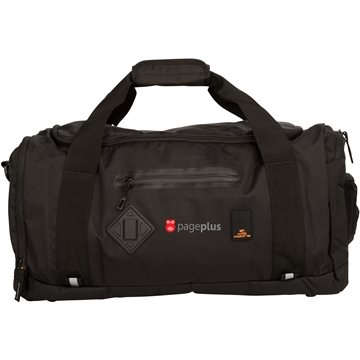 Black Cobra Duffle Bag Mesh