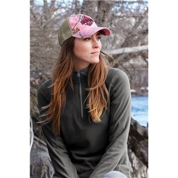 Port Authority® Unstructured Camouflage Mesh Back Cap