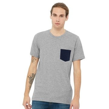 Bella + Canvas - Jersey Pocket Tee - 3021