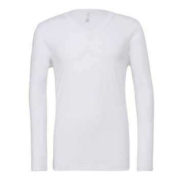 Bella + Canvas - Unisex Long Sleeve V-Neck Tee - 3425