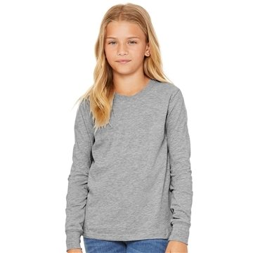 Bella + Canvas - Youth Long Sleeve Jersey Tee - 3501y