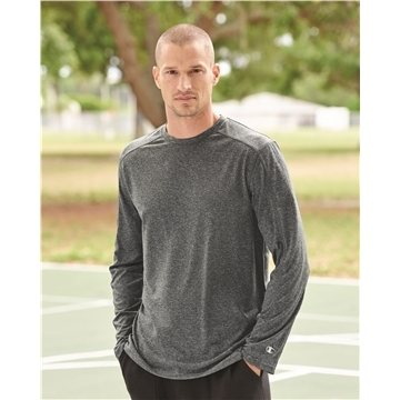 Champion - Vapor Performance Heather Long Sleeve T-Shirt