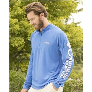 Columbia - Terminal Tackle Long Sleeve Quarter-Zip Shirt