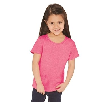 Next Level - Girls' Princess CVC Tee - 3712