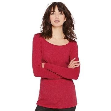Next Level - Women's Triblend Long Sleeve Scoopneck Tee - 6731