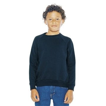 American Apparel - Youth California Fleece Raglan Sweatshirt