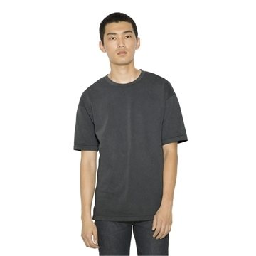 American Apparel - Unisex French Terry Garment Dyed T-Shirt