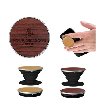 Wood PopSockets Grip - Rosewood
