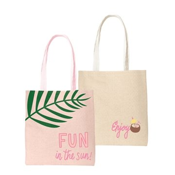 Main Squeeze Straw Tote Bag