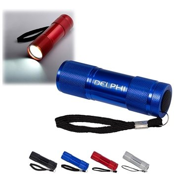 Cylinder COB Flashlight