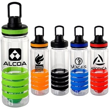 Band-It 28 Oz Sporty Ring Bottle With Floating Infuser
