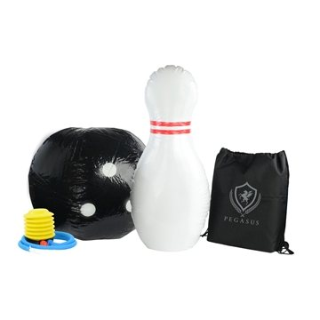 Giant Inflatable Bowling With Carrying Case