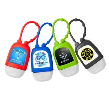 Hand Sanitizer with Silicone Strap