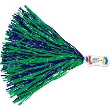 Full Color Contour Handle Imprinted Pom - without token - 500 streamers