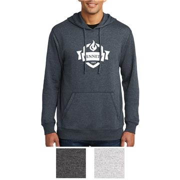 District® Men's Lightweight Fleece Hoodie