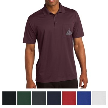 Sport-Tek® Micropique Sport-Wick® Pocket Polo