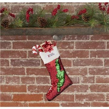 Snazzy Sequin Holiday Stocking