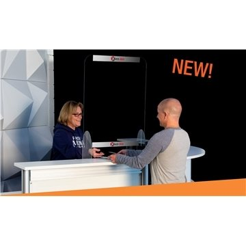 24'' x 32'' Protective Acrylic Counter Barrier Kit