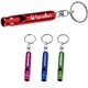 Promotional Metal Whistle Key Ring Key Chain