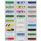 Promotional 3/4 Dye - Sublimated Lanyard with Metal Crimp and Metal Split - Ring