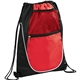 Promotional Locker Mesh Pocket Drawstring Bag