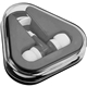 Promotional 46 Cord Earbuds in Triangle Case