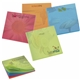 Promotional BIC(R) 3 x 3 Bright Colored Paper Adhesive Notepad, 50 Sheet Pad