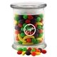 Promotional 3 1/2 Round Glass 12 oz Jar with Runts