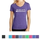 Promotional District Made(R) Ladies Perfect Tri(TM) V - Neck Tee