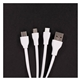 Promotional Power - Up Squid 3- in -1 Charging Cable