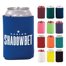 Promotional Budget Collapsible Foam Can Holder - 1 Side