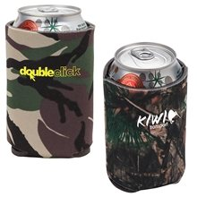 Promotional Yucca II Camo Can Cooler