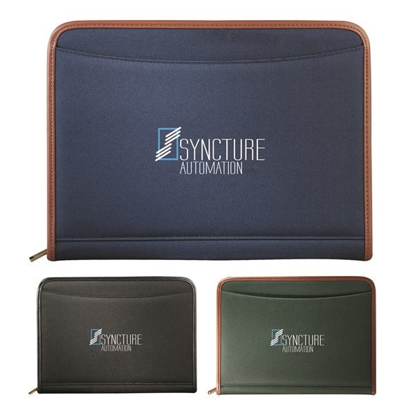 Promotional Northwest Zippered Padfolio