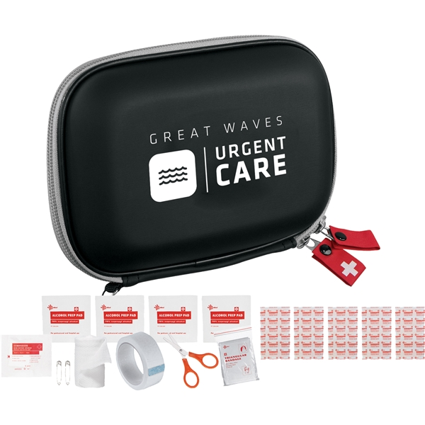 Promotional StaySafe 16- Piece Quick First Aid Kit