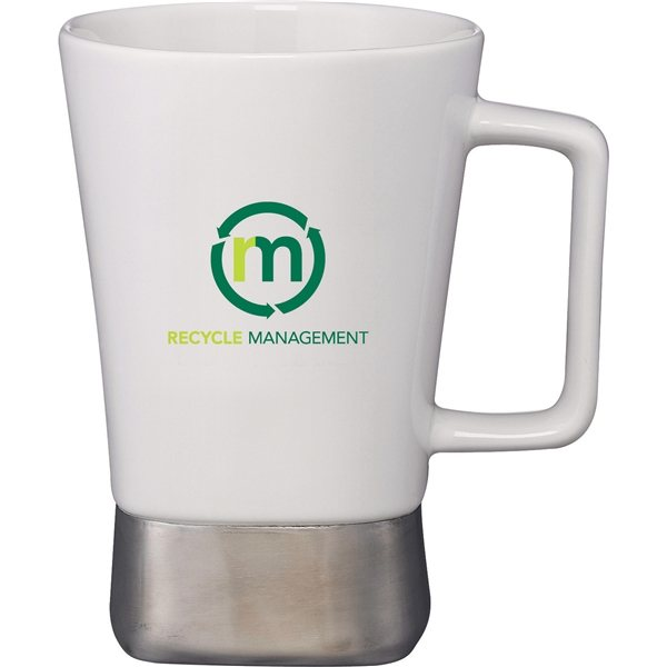 Promotional Ceramic Desk Mug 16 oz