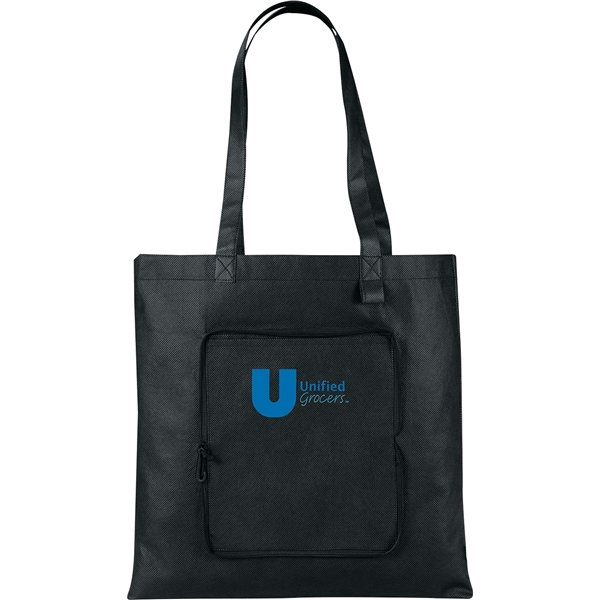 Promotional Foldable Non - Woven Convention Tote