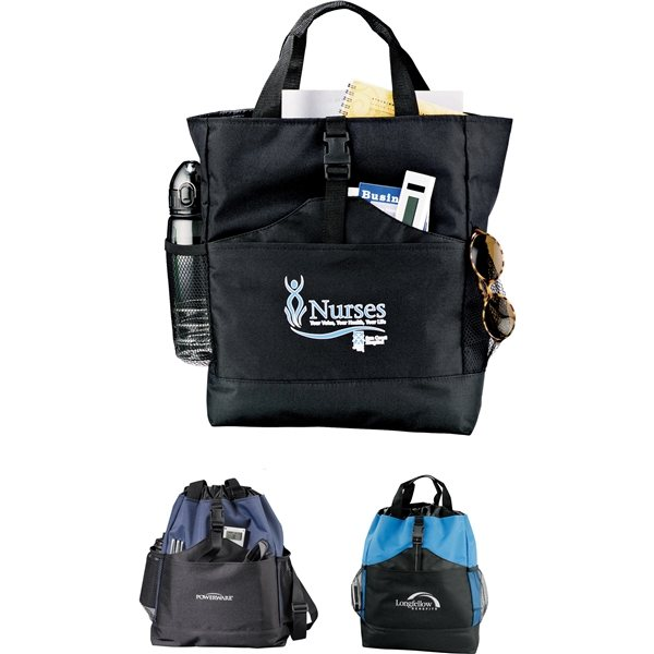 Promotional Eclipse Convertible Backpack Tote