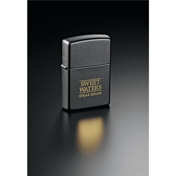 Promotional Zippo(R) Windproof Lighter Black Matte